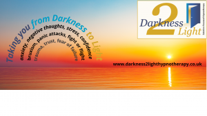Darkness 2 Light Hypnotherapy Banner